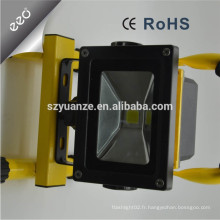 12 volts 10w 20w 30w Portable Battery Powered Dimmable Rechargeable Outdoor Emergency LED Flood Light