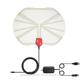 Ultra-thin Transparent Indoor HDTV Antenna 50miles