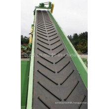 Ep Chevron Rubber Conveyor Belt