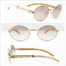 Qué gafas de sol de cuerno / gafas de sol / Sunglass marca