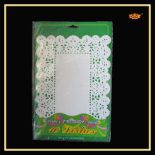 All Size Food Grade Pointed Rectangle Paper Mat