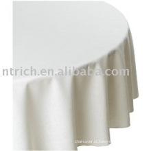 100% poliéster toalha de mesa, tampa de tabela para banquetes/hotel, toalhas de mesa