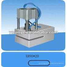 Lidar com a máquina de perfurador/perfuração de buraco para sacos de plástico, sacos e sacos não tecidos