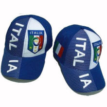 Italy Blue Extra Large Hat Outdoor Cap Headwear With Customed Colors / Materials