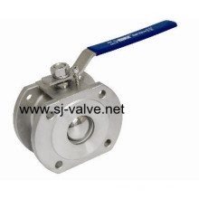 Stainless Steel Wafer Ball Valve