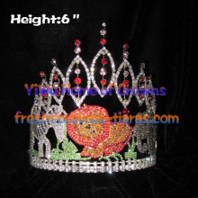 6inch Jungles Forests With Animals Pageant Crowns