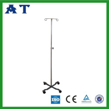 Stainless steel I.V Stand with height adjustable