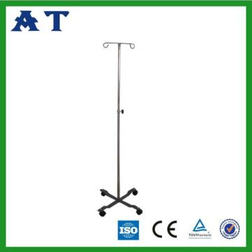 Yüksekliği ayarlanabilir paslanmaz çelik I.V standı