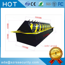 Remote Hydraulic Roadway Safety Automatic Blockers