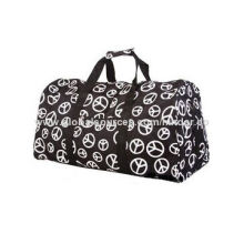 Weekend Bag, Nylon, Polyester Material, for Gym, Sports, Camping, Hiking, Duffel, Travel, Overnight