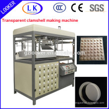 PVC Vacuum Forming Machine for scourer cover
