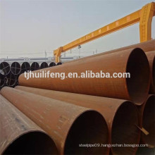 b36.10m black paint/galvanized LSAW welded pipes