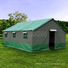 Tente militaire tactique militaire avec revêtement imperméable PVC / avec fil de nylon renforcé/multifonctions