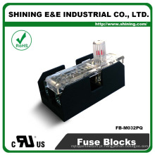 FB-M032PQ Igual a Bussmann 600V 30 Amp 2 Pole 10x38 Midget Fuse Box