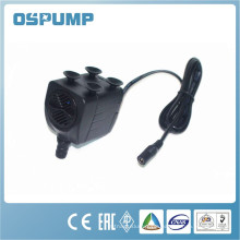 mini dc aquarium water pump with led light for funntain