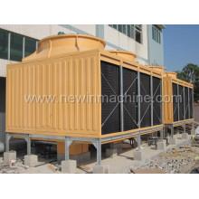 Torre de refrigeración de tipo cuadrado de vidrio de alta eficiencia (NST-800H / M)