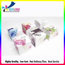 Square Shape Magnet Open Paper Printing Perfume Box