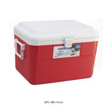 42Л портативный пластиковый кулер, Коробка охладителя автомобиля, пиво может охладитель