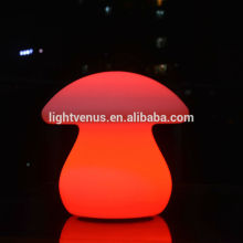 rechargeable remote control high quality mushroom modern desk lamp