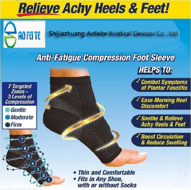 Socks ankle compression sleeve exerciser sport brace