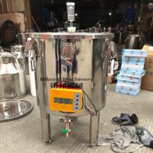 Tanque de fermentação de cerveja em casa de aço inoxidável para venda preço barato