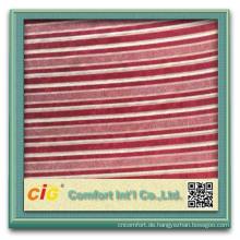 neueste Design China Samt Stoff dekorative Stoff Farbkombinationen für Sofa-Set