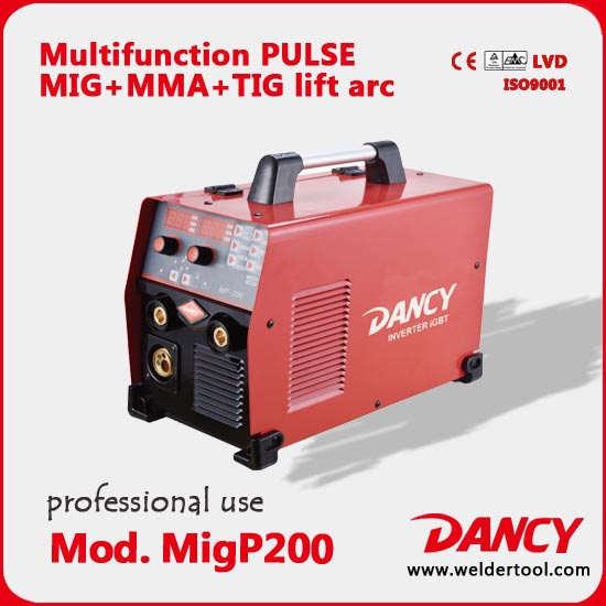 Pulsed mig thợ hàn 200amps