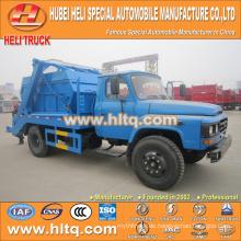 DONGFENG 4x2 6CBM 140hp überspringen Loader Müllwagen / Arm Roll Container Müll LKW Müll LKW gute Qualität Fabrik direkt