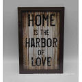 Black Wall Decoration Plastic Photo Frame for Wall
