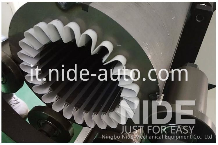 stator slot insulation paper-inserting-machine7