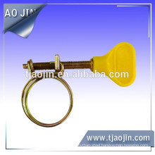 Handle double wires hose clamp\Handle Wire hose clamp