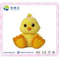 Unique Design Big Feet Plush Yellow Chicken Toy