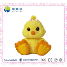 Unique Design Big Feet Plush Yellow Chicken Toy