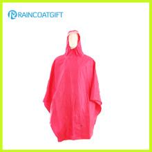 Desgaste de lluvia reutilizable 100% impermeable de la prenda impermeable del PVC