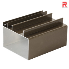 China Larga historia de aluminio / aluminio fábrica de aluminio / aluminio ventana / puerta / obturador / persianas