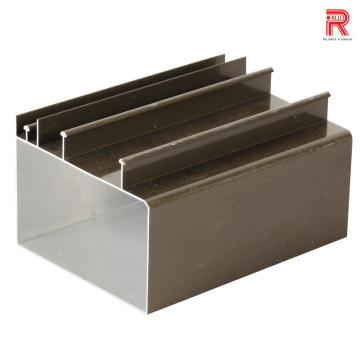 Aluminum/Aluminium Extrusion Profiles for Us Style Vertical Sliding Window