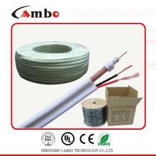 Câble coaxial RG59 Aluminium tchèque siamois 50 ohms 75ohm