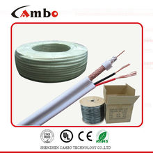 coaxial cable RG59 siamese 2 core power