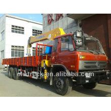 8 Ton Dongfeng 6x4 Güterwagen mit Kran