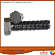 China for Hex Machine Bolts DIN931 Wholesale steel din standard hex bolt supply to Congo Importers