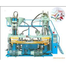 Machine de moulage par injection en plastique à trois couleurs