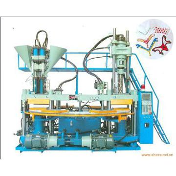 Three-Colored Plastic Injection Molding Machine