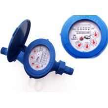 Super Dry Dial Plastic Water Meters , Anti Magnetic , ISO 4