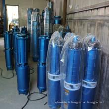 Pompe à eau submergée à plusieurs étages pour irrigation agricole