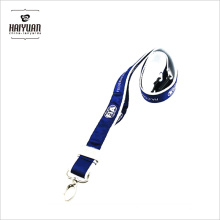 Chine Market Hot Sale Cheap Custom Branded Double Layer Polyester Lanyard avec Logo