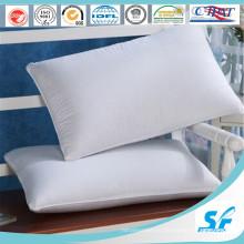 Подушка из чистого белого утиного пуха для 5-звездочного отеля / дома