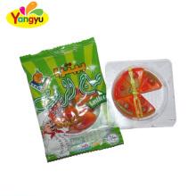Custom matty pizza fruit juice halal gummy candy