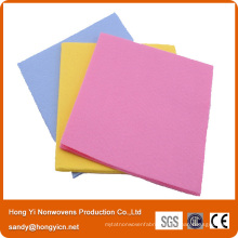 38cm*38cm Non-Woven Fabric Cleaning Cloth, Viscose/Polyester Towels