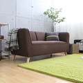 Contemporary Lazy 321 Seater Full Fabric Sofa Set