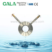 Agua para placa de medición de presión para válvula de equilibrado automática